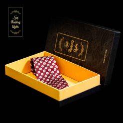 Cà Vạt Lụa Thượng Uyển bản to CT02