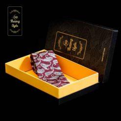 Cà Vạt Lụa Thượng Uyển bản to CT12