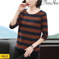 Áo thun cotton nữ P601