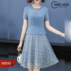 Đầm trung niên M899