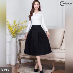 váy trung niên Y193