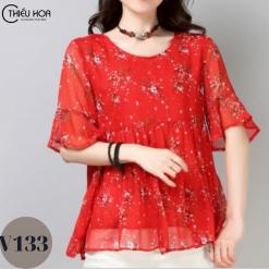 áo kiểu trung niên V133