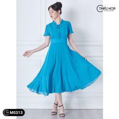 Đầm trung niên M0313