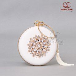Túi xách nữ - Túi tròn T014
