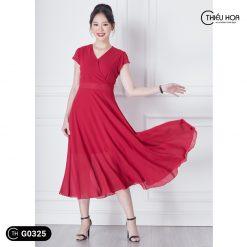 Đầm trung niên G0325