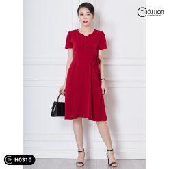 Đầm trung niên H0310